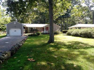 Middle Island Single Family Home For Sale: 137 Park Ln