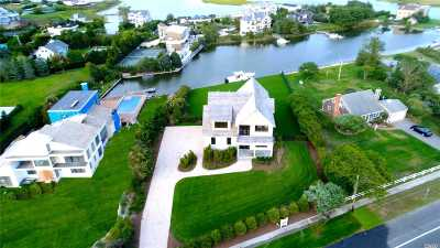 Westhampton Bch Single Family Home For Sale: 168 Beach Ln