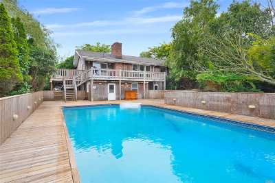 Montauk Single Family Home For Sale