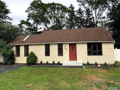 Patchogue Single Family Home For Sale: 125 Phyllis Dr