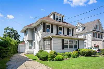 Cedarhurst Single Family Home For Sale: 316 Atlantic Ave