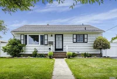 Hicksville Single Family Home For Sale: 80 N Fordham Rd