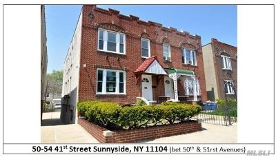 Sunnyside Multi Family Home For Sale: 50-54 41st St