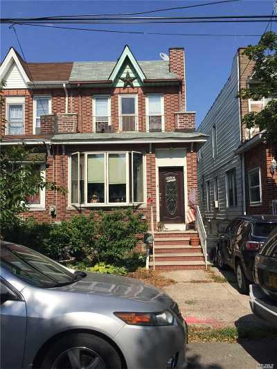 Ozone Park Single Family Home For Sale: 137-29 95 St