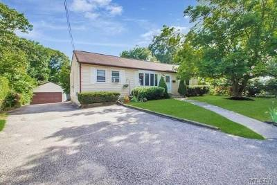 Lake Ronkonkoma Single Family Home For Sale: 20 Shorehaven Blvd