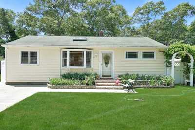 Hampton Bays Single Family Home For Sale: 8 Park Ln