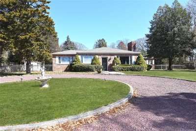 Setauket Single Family Home For Sale: 88 Van Brunt Manor Rd