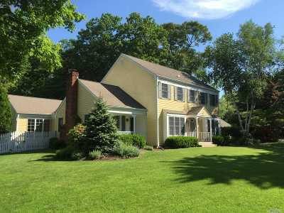 Shoreham Single Family Home For Sale: 46 Soundview Dr