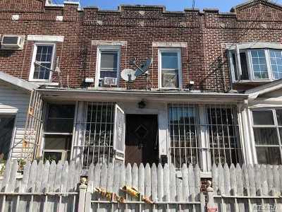 Ozone Park Single Family Home For Sale: 80-07 95th Ave