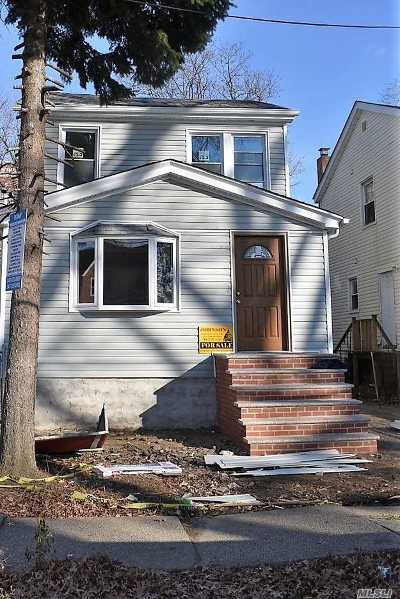 Single Family Home For Sale: 109-21 125th St