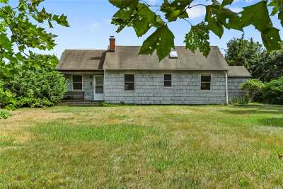 Amagansett Single Family Home For Sale: 566 Montauk Hwy
