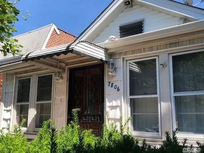 Middle Village Single Family Home For Sale: 78-06 58th Ave