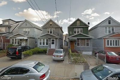 Jamaica Single Family Home For Sale: 130-27 117th St