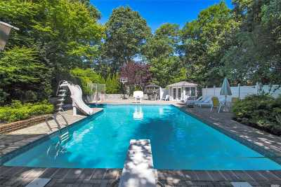 Smithtown Single Family Home For Sale: 45 Woodland Ln