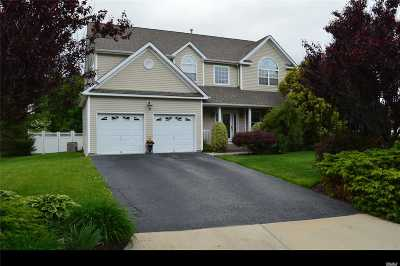 Manorville Single Family Home For Sale: 6 Scenicview Cres