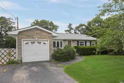 Hauppauge Single Family Home For Sale: 646 Nichols Rd