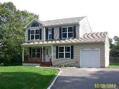 Centereach Single Family Home For Sale: 82a Oak St