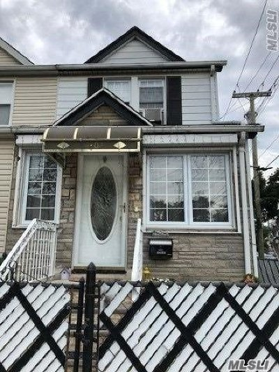 Ozone Park Single Family Home For Sale: 84-02 108th Ave