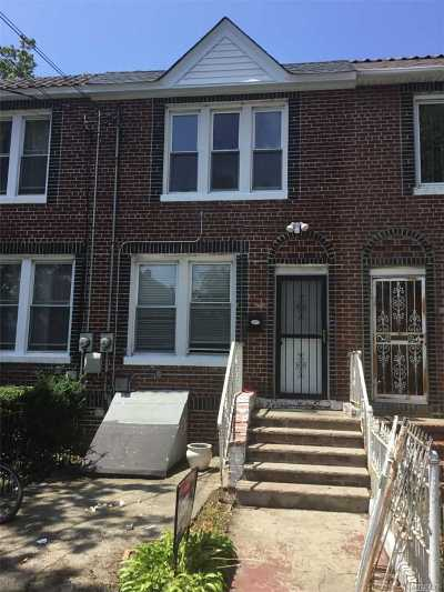 Jamaica Single Family Home For Sale: 117-42 143rd St
