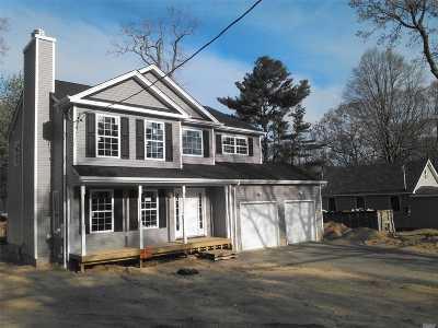 Sound Beach Single Family Home For Sale: 48 Sunrise Dr