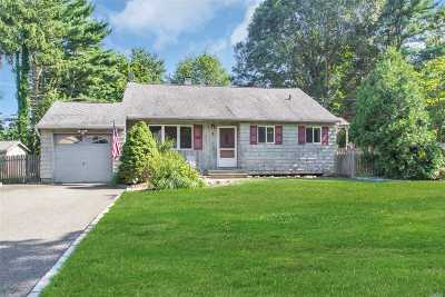 Smithtown Single Family Home For Sale: 6 Jillet Dr