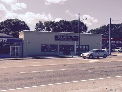 Patchogue Commercial For Sale: 292-294 Medford Ave
