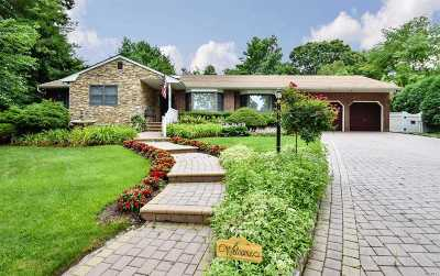 Hauppauge NY Single Family Home For Sale: $575,000