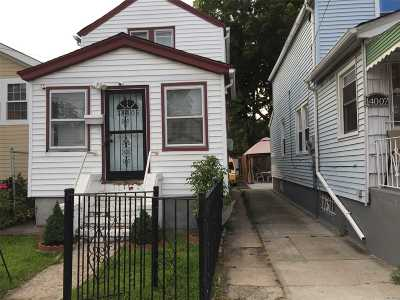Jamaica Single Family Home For Sale: 140-05 123rd Ave
