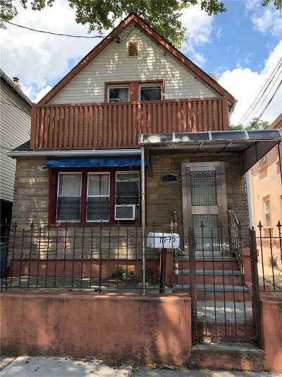 Corona Single Family Home For Sale: 111-75 43rd Ave