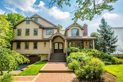 Jericho Single Family Home For Sale: 10 Delaware Ave