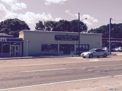 Patchogue Commercial For Sale: 292-294 Medoford Ave