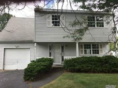 central Islip Single Family Home For Sale: 12 Cherry St