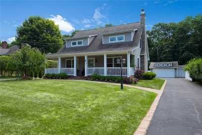 Setauket Single Family Home For Sale: 15 Wendover Rd
