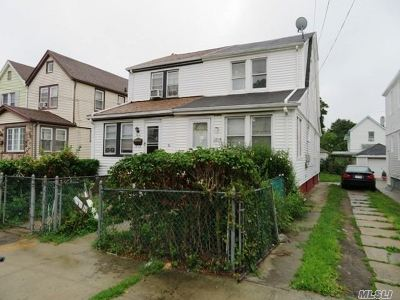 Jamaica Single Family Home For Sale: 118-14 204th St