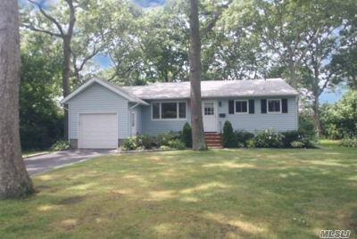 Sayville Single Family Home For Sale: 14 Karen Dr