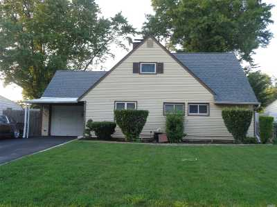 Levittown Single Family Home For Sale: 124 Bucket Ln