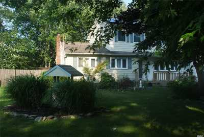 East Moriches Single Family Home For Sale: 9 Newport Beach Blvd