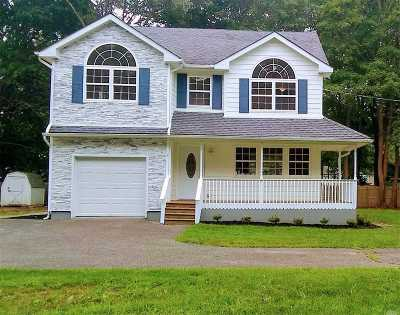 Center Moriches Single Family Home For Sale: 7 Nugent St