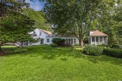 Westhampton Single Family Home For Sale: 72 Tanners Neck Ln
