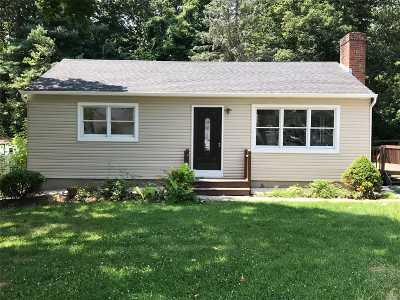 Rocky Point Single Family Home For Sale: 36 Palm Rd