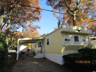 Wading River Single Family Home For Sale: 658 F7 Sound Ave