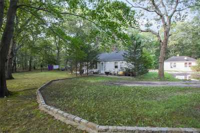 Remsenburg Single Family Home For Sale: 149 Old Country Road