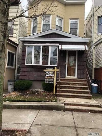 Woodhaven Single Family Home For Sale: 85-64 80 St