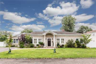 Lindenhurst Single Family Home For Sale: 21 Palm St