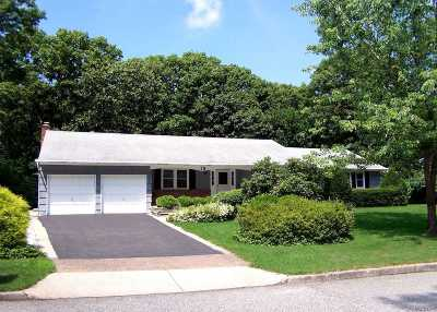 Setauket Single Family Home For Sale: 19 Fox Rd