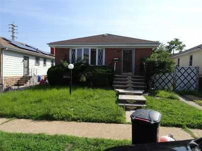 Jamaica Single Family Home For Sale: 123-09 180th St
