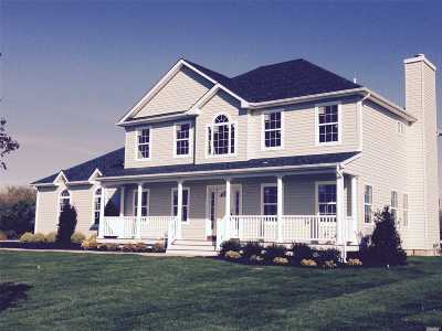 Mt. Sinai Single Family Home For Sale: Lot 8 Manor Ct