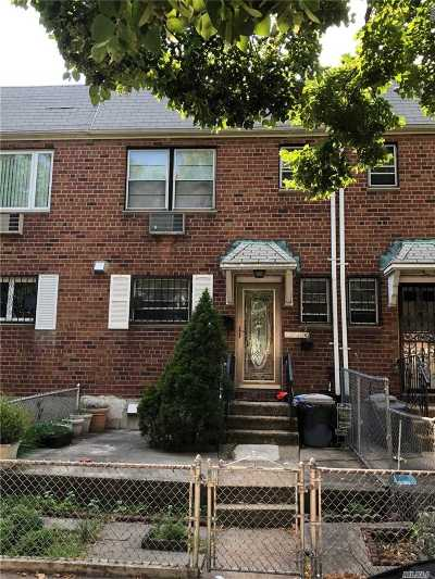 Jackson Heights Single Family Home For Sale: 32-16a 76th St