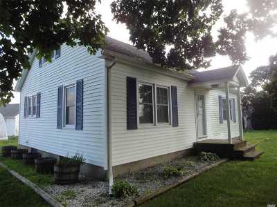 Calverton Single Family Home For Sale: 2169 Sound Ave