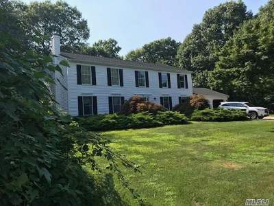 Manorville Single Family Home For Sale: 34 Foreston Cir